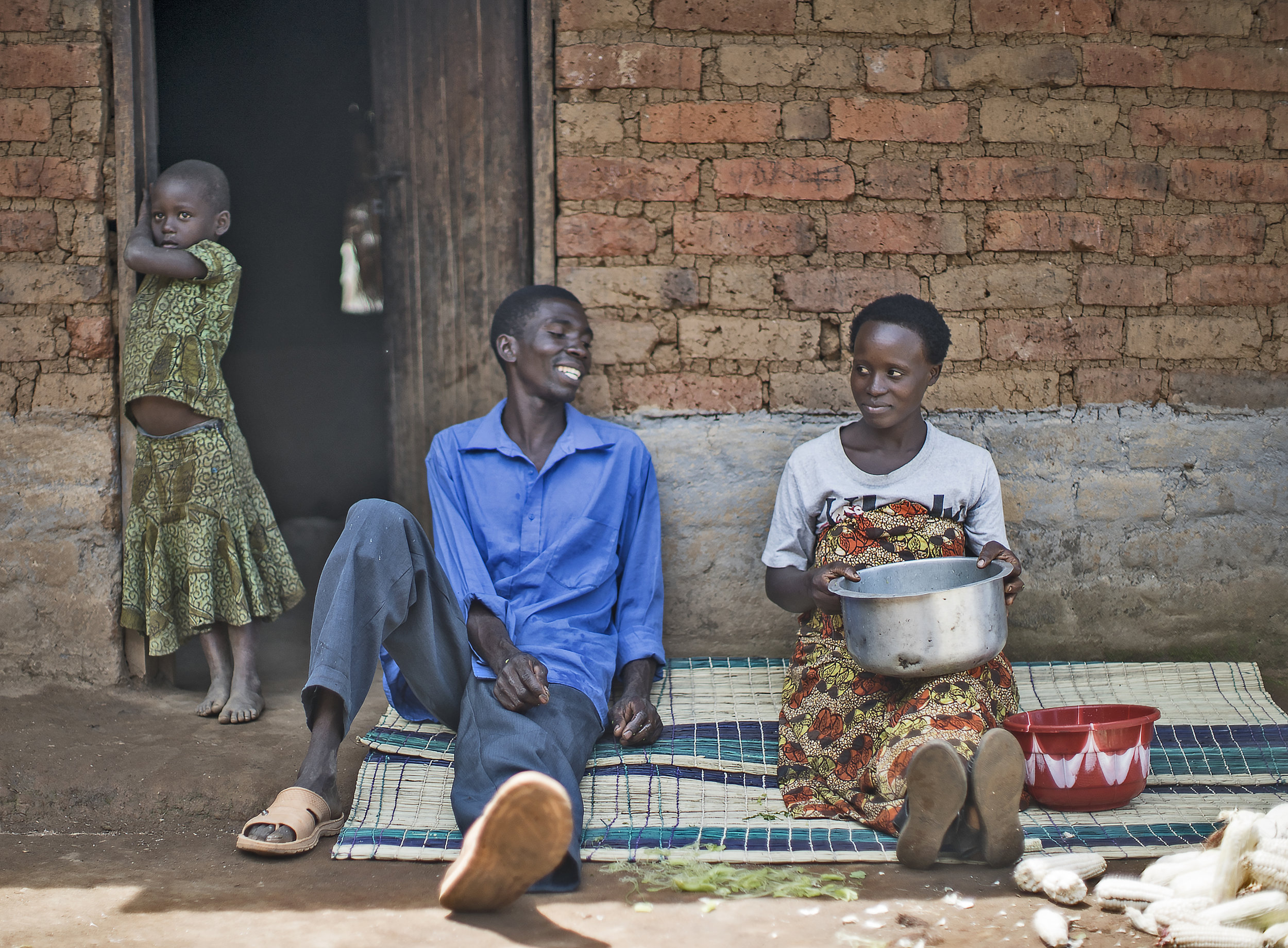 A family in the Songwe region prepares for a meal. A diverse and nutritional meal plan is a crucial component of reducing stunting.