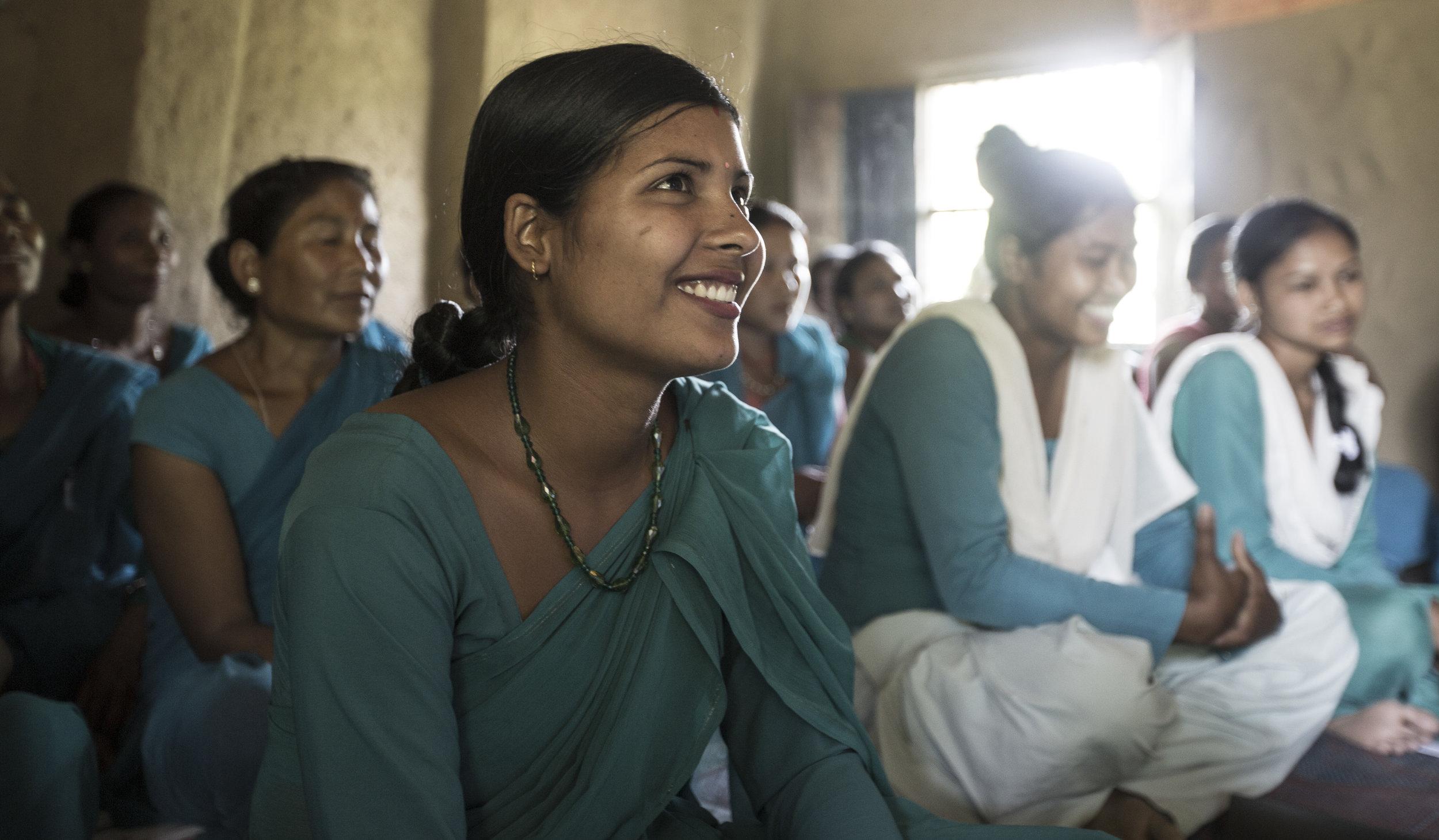WORTH members in Nepal.