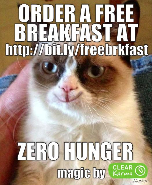 FREE Breakfast Zero Hunger