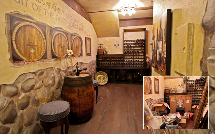 Before & After: The Wine Room (another view)