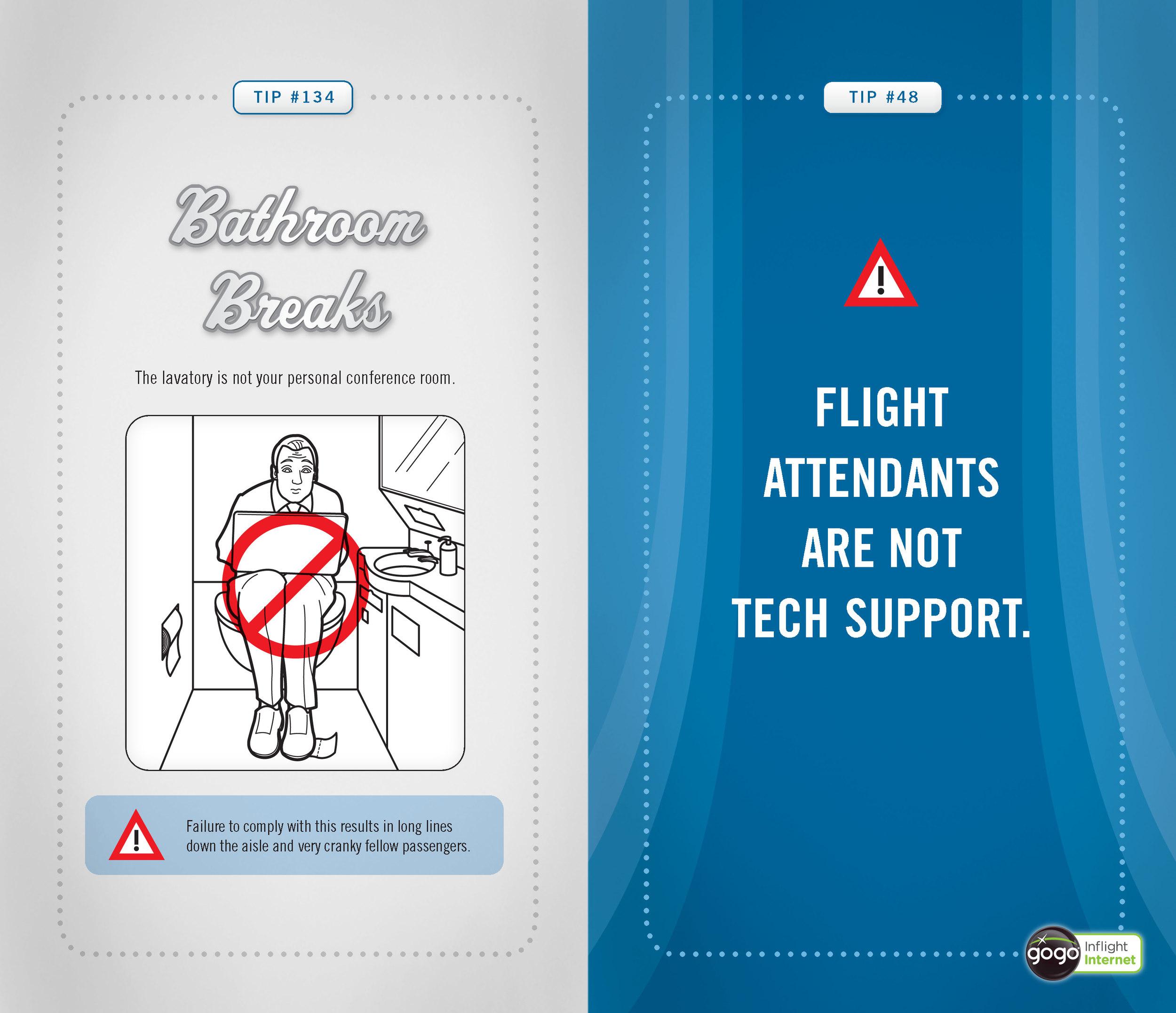 internetiquette brochure spread