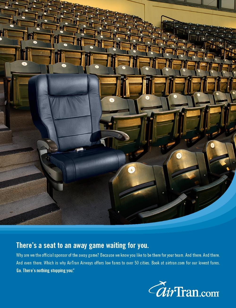 seat to an away game print