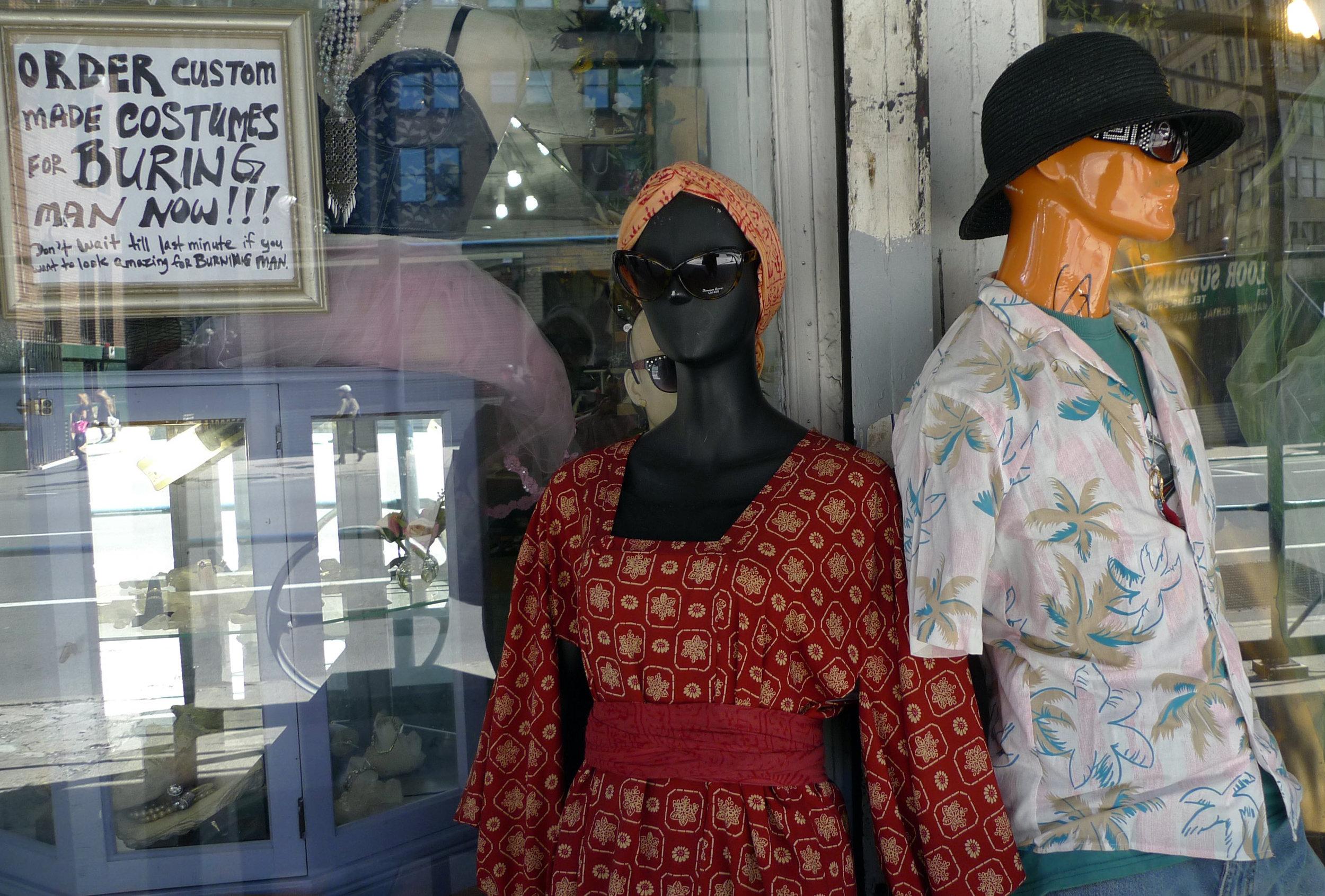 Mannequins on Lafayette Street