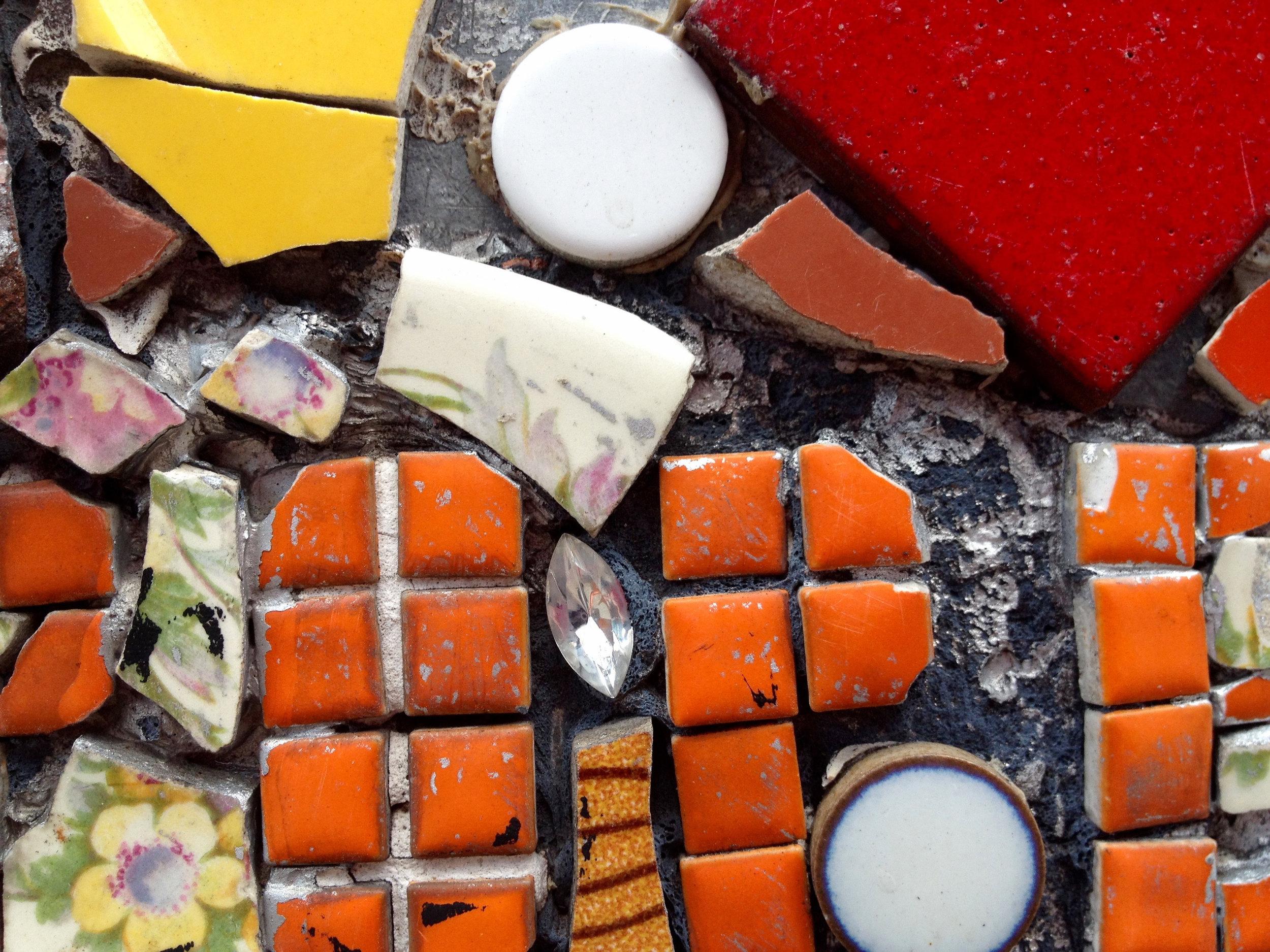 Mosaic Trail Orange