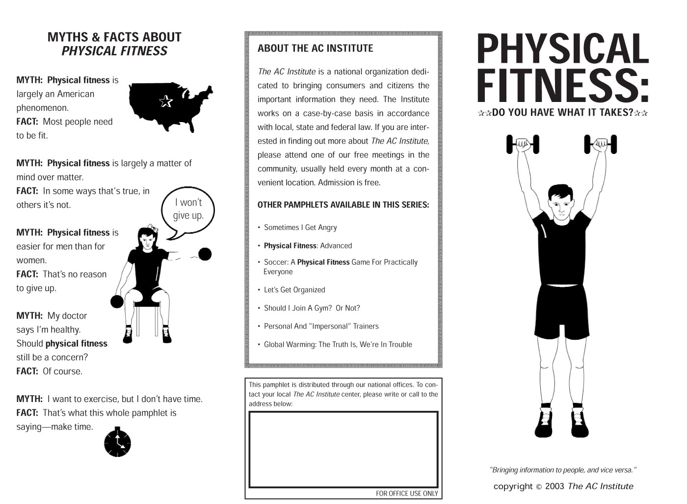 Physical Fitness: Do You Have What it Takes?