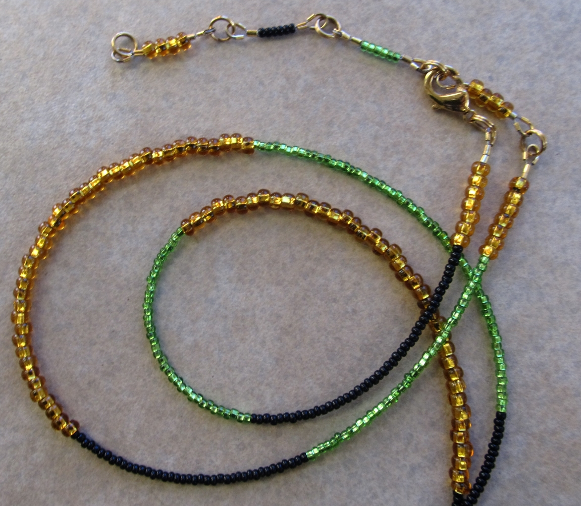 An extension piece can serve as an extension or a cute dangle