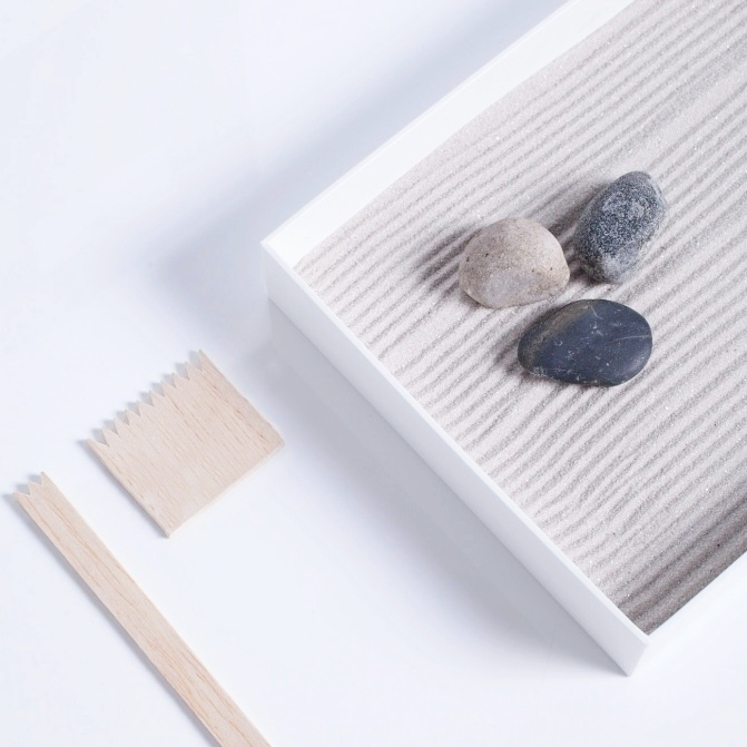 Zen Garden - iPad or MacBook box
