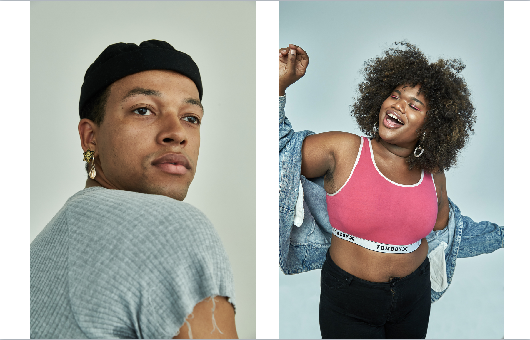 Soloman Golding & Jari Jones for Netflix PRIDE Campaign- Tales of the City