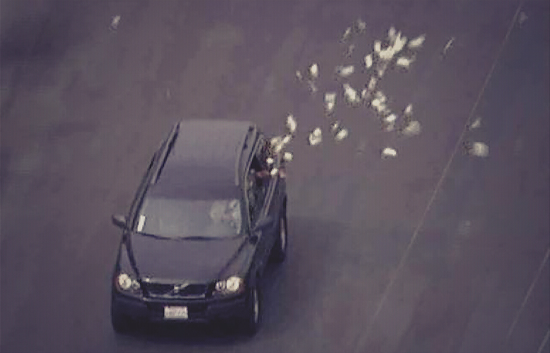 This picture isn't related...I just couldn't believe someone was actually throwing money out the window!