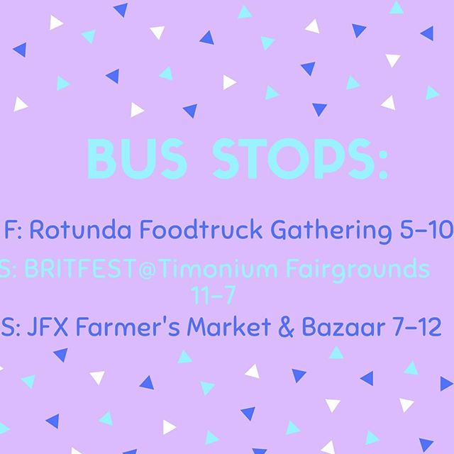 Some really fun stops this weekend!  It's gonna be a little toasty out but luckily I got some jam and butter... Come see me QTs. ❤😊