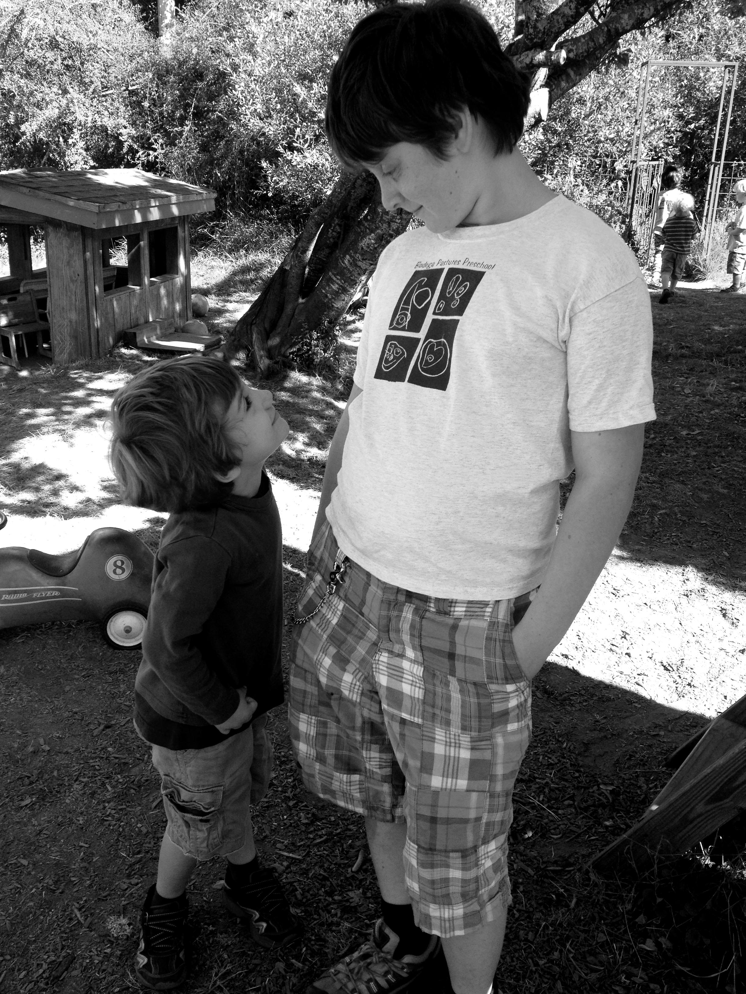 with rowan at pastures b and w.jpg