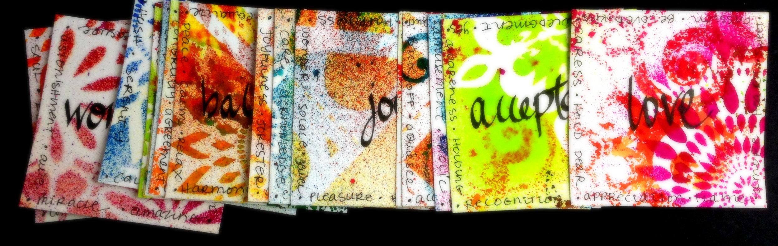 Inspiration cards