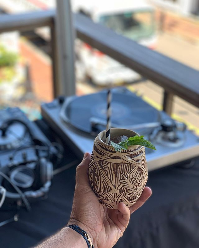 Couple few shots from @guiyingling and myself from our first annual Tiki bbq invitational at @spindlers_ptown last Thurs. Featuring Chef Liam @bosqmusic @cousincole @hardlydani @thecaptainsdaughters @orianamco @__that__lesbian @thedinxes @marchessowhat and more thank you for coming out!