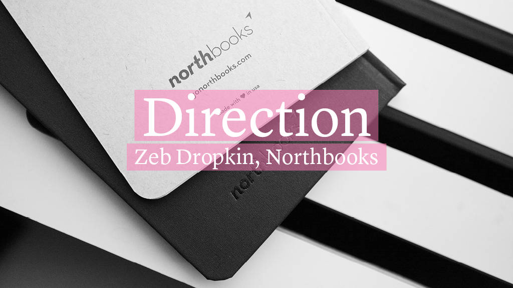A compass within, self-awareness drawn beautifully on a blank slate. This is  Northbooks .
