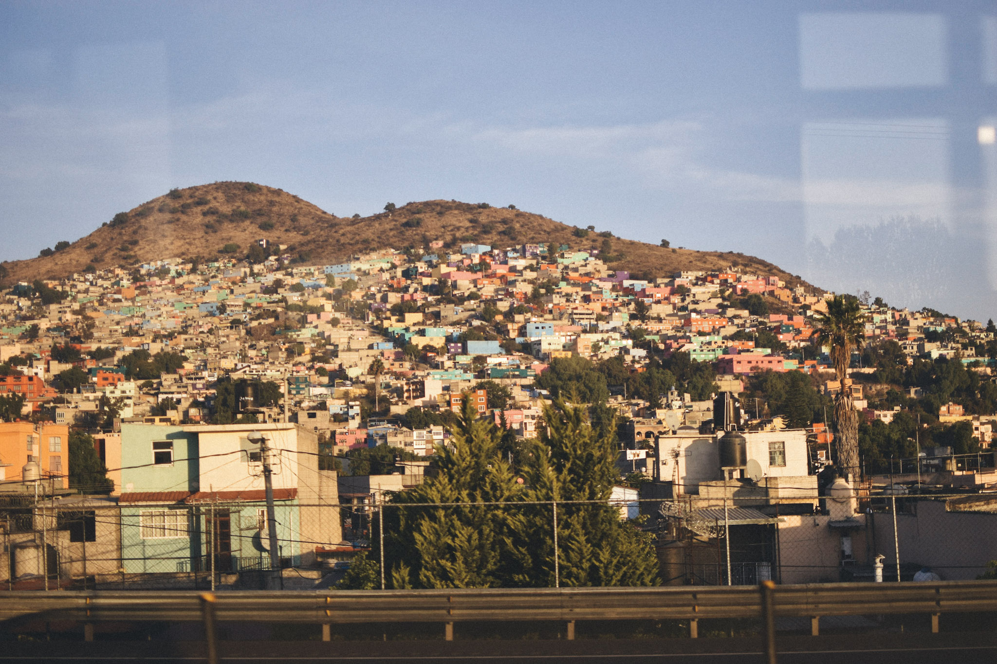 A working-class neighborhood just outside of Mexico City