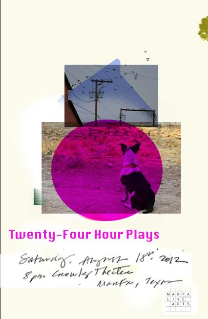 Poster design: Marfa Live arts