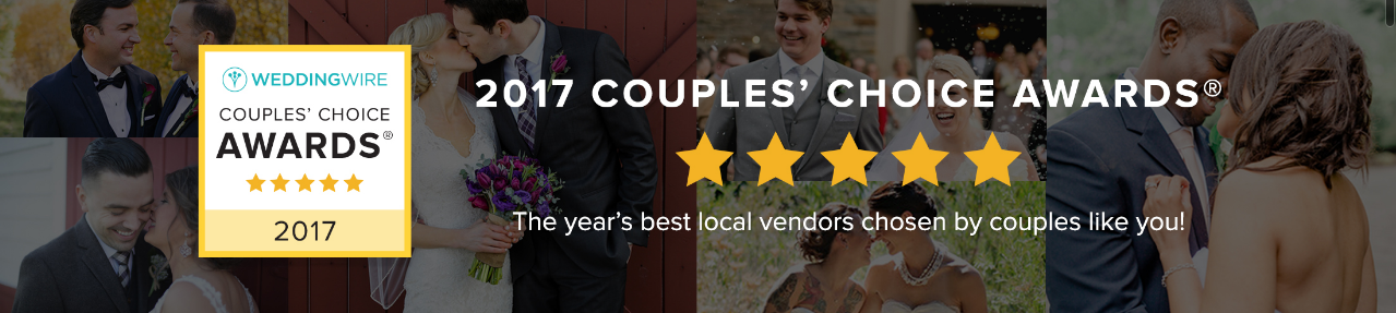 Wedding Wire Couples Choice Award 2017 Generations