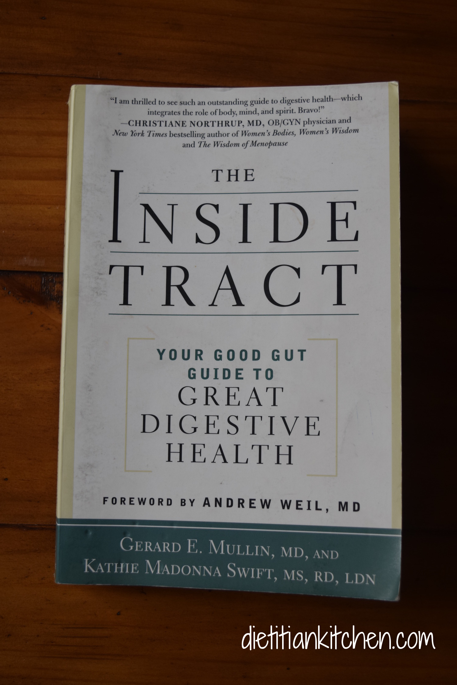 AKA: the dietitian's Bible! This book explains how literally EVERY disease can be traced back to inflammation-and how inflammation starts in the gut.