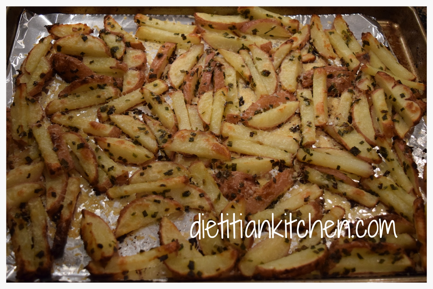 Chive & Parmesan Roasted Red Potatoes
