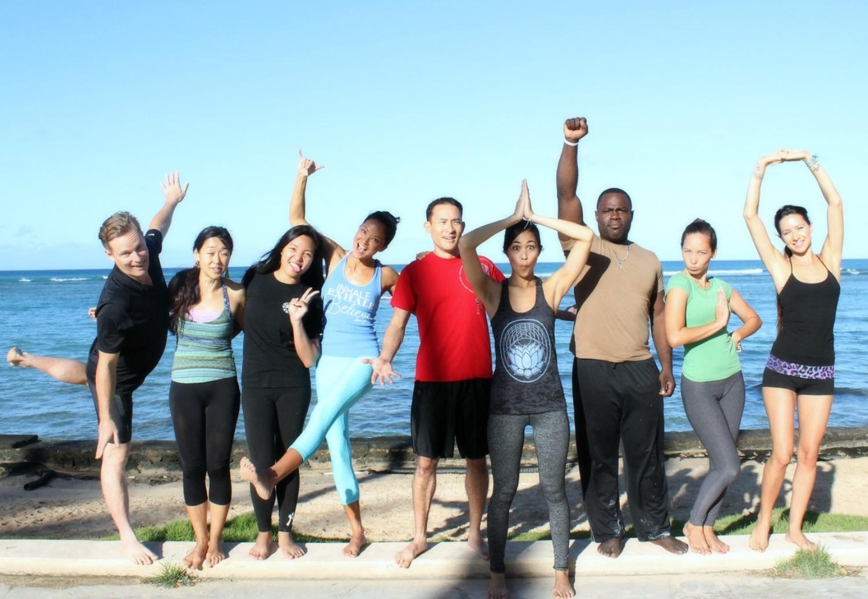Aloha and Love from the Flo Yoga Hawaii photo shoot participants! Site photos courtesy of  Kecia Littman .