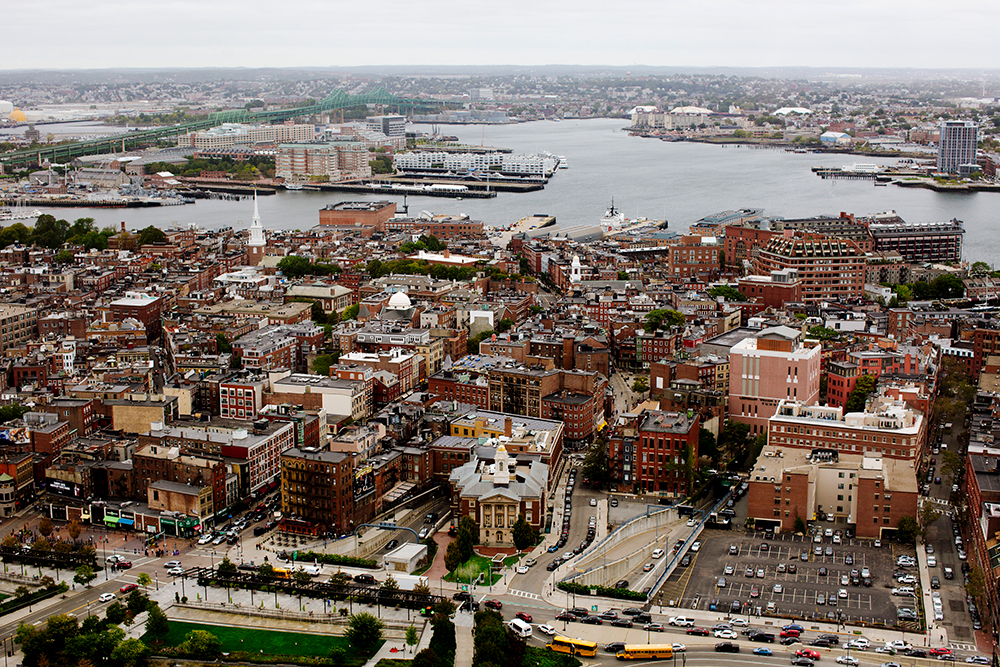 View from the State Room, Boston