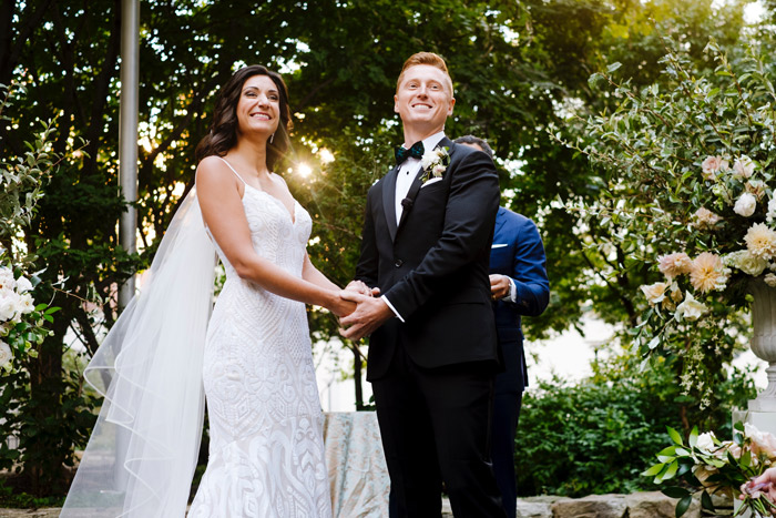 Spend time with portfolios as you think about hiring your wedding photographer and be sure to ask questions.