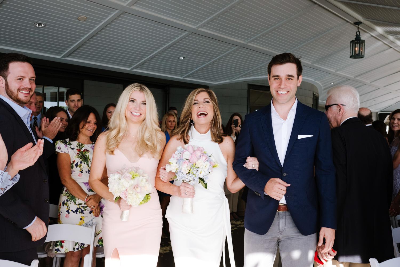 Bride_Processional_Corinthian_Yacht_Club_Wedding