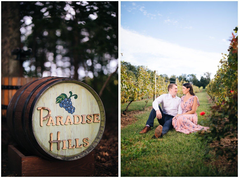 Paradise HIlls Vineyard Engagement - Kelley + Paul_0015.jpg