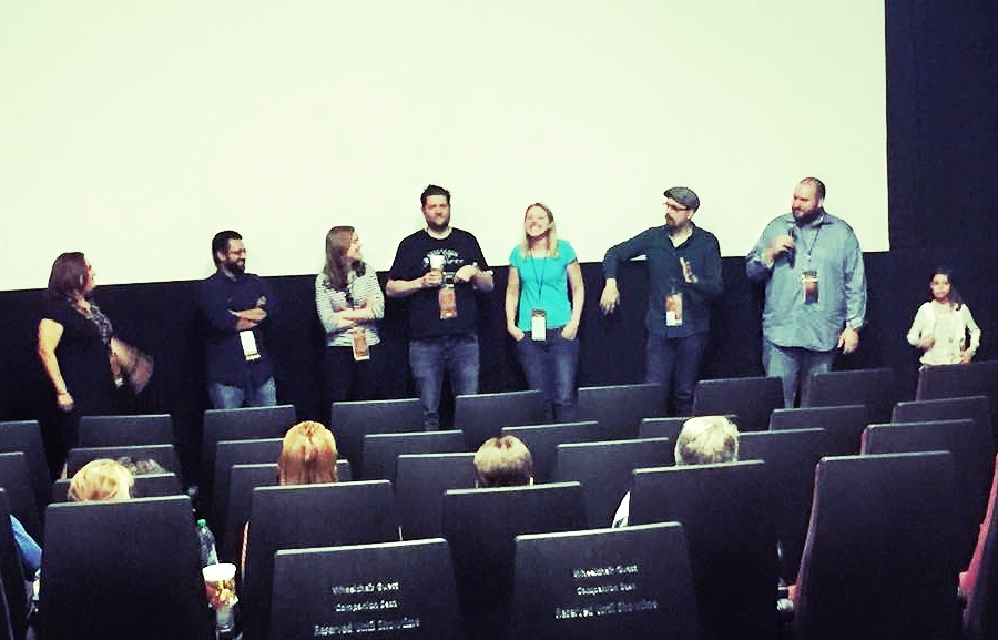 Q&A from our second screening, alongside Deb Hildebrandt (programmer and moderator extraordinaire), Team Lucid, and the young actress from Protocol.