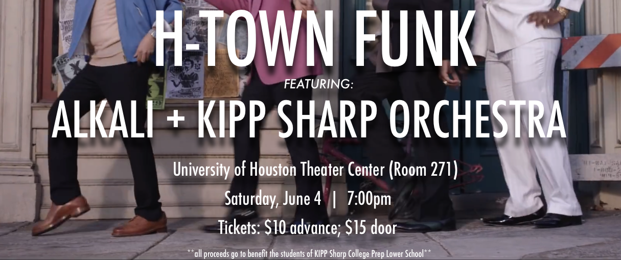 Houston, TX  Joint concert and residency with the KIPP: Sharp Charter School orchestra at the University of Houston.