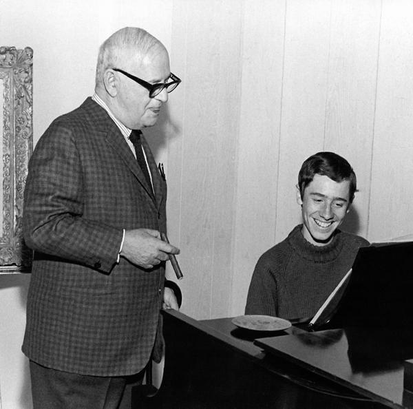 "Ira Gershwin mentoring  & blessing Craig's adaptation of ""Rhapsody In Blue."""