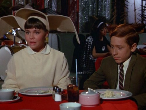 """Craig with Sally Field on """"The Flying Nun"""""""