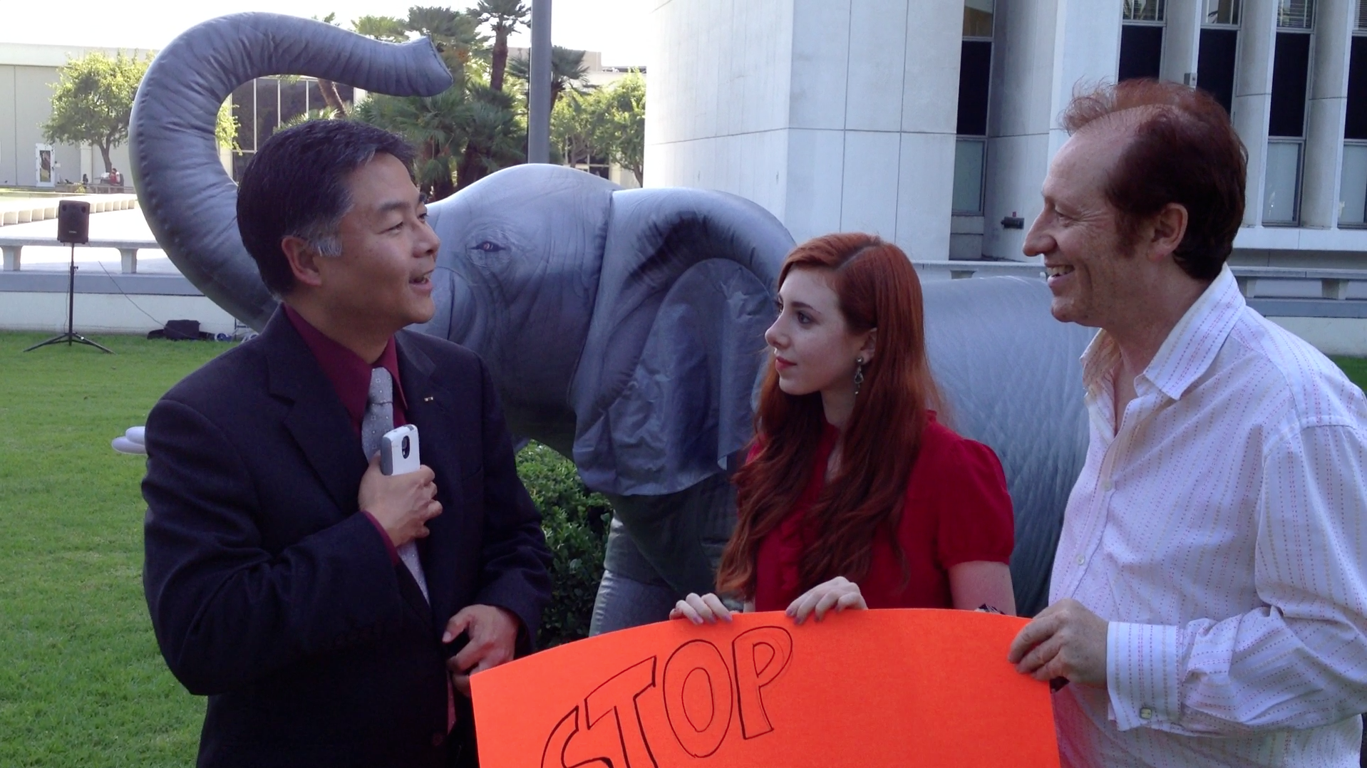 Congressman Ted Lieu speaks with Team Huxley about ivory demand in China
