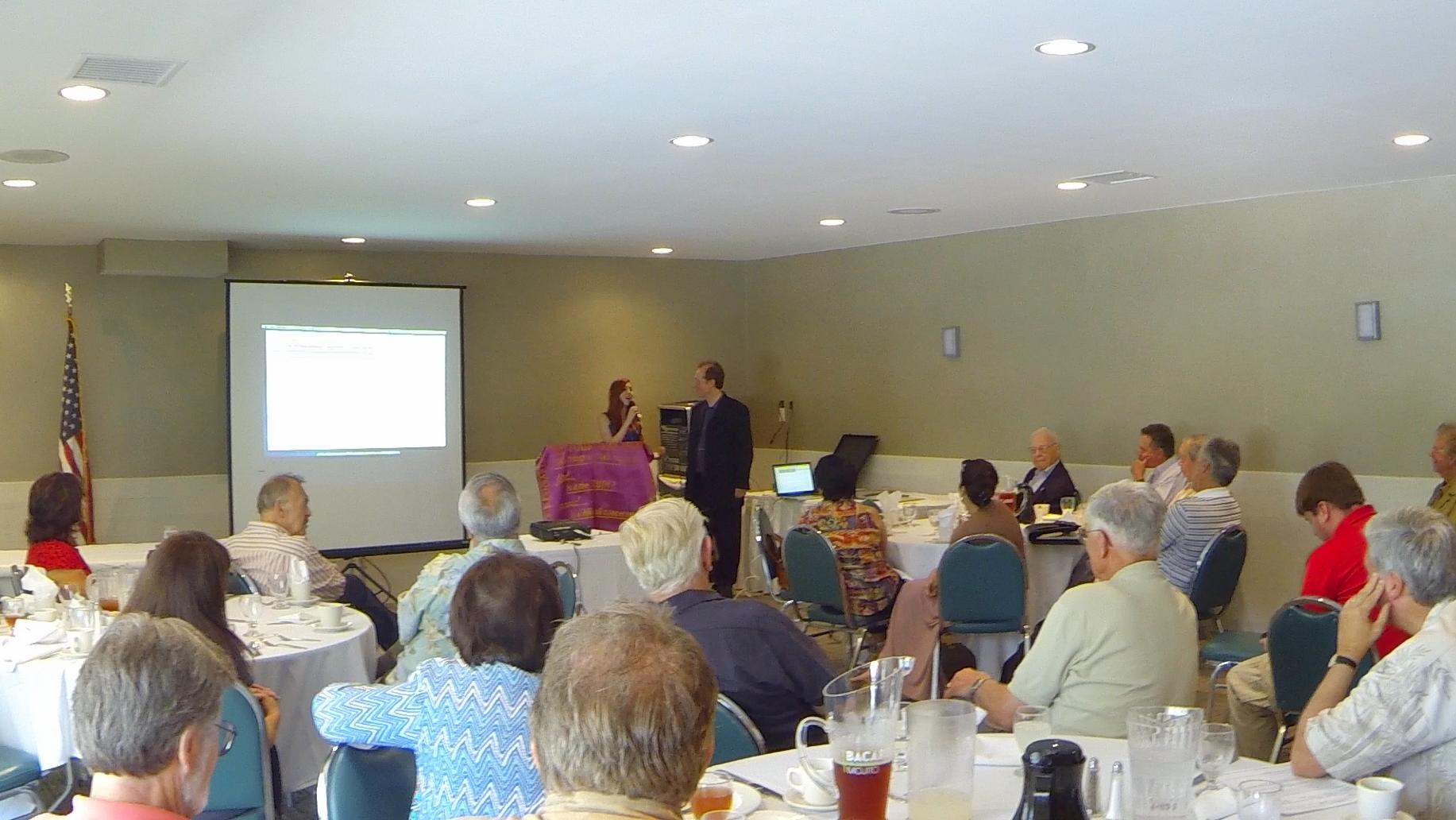 ELF presentation at Rotary Club