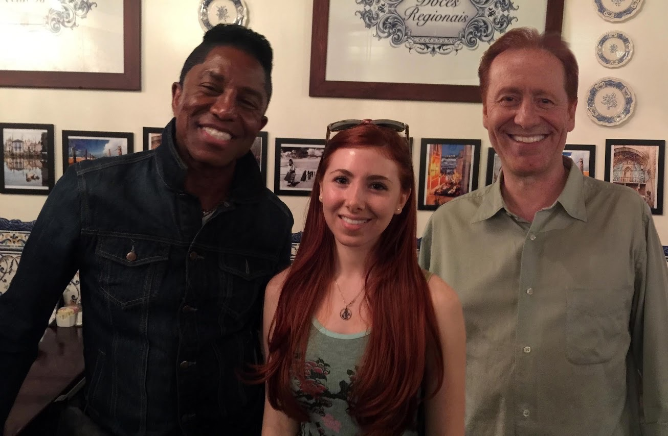 Jermaine Jackson shares a meal in LA with Fiona & Craig to discuss collaborating on Huxley's Wildlife Anthem Song.