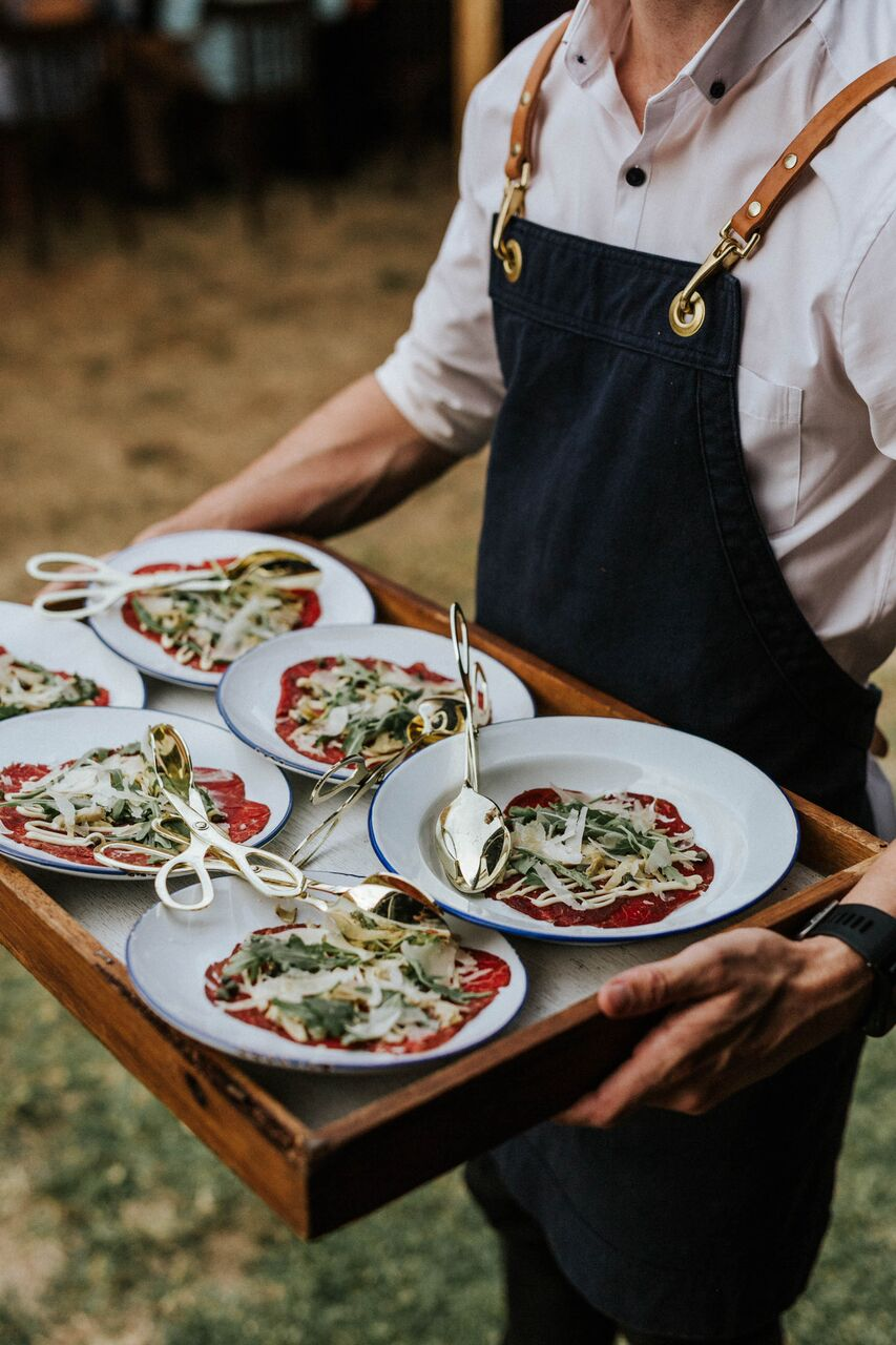 Beef Carpaccio - Marnie & Antony Wedding (Photo- Marnie Hawson) .jpg
