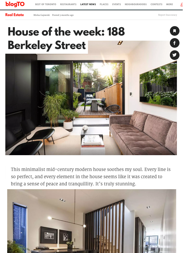 """""""This minimalist mid-century modern house soothes my soul. Every line is so perfect, and every element in the house seems like it was created to bring a sense of peace and tranquillity. It's truly stunning."""""""