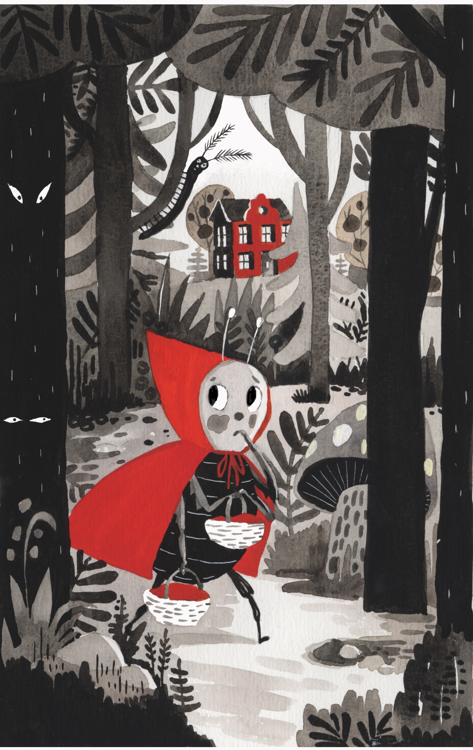 Little Red Riding Bug Personal project