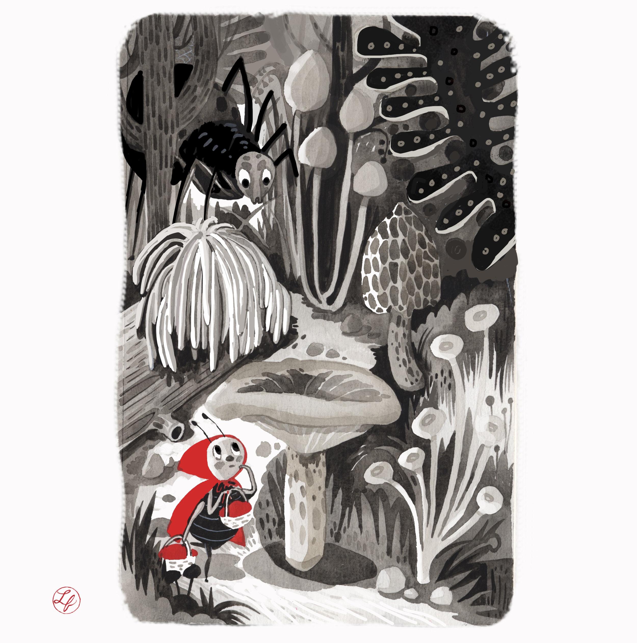 Mushroom Alley