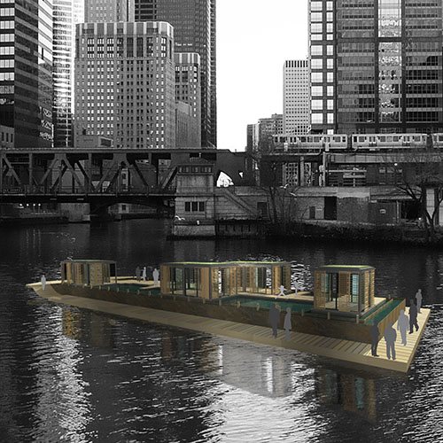 River Pure Barge at Wolf Point