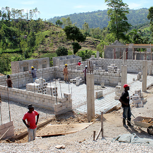 Haiti Work with Schools for the Children of the World