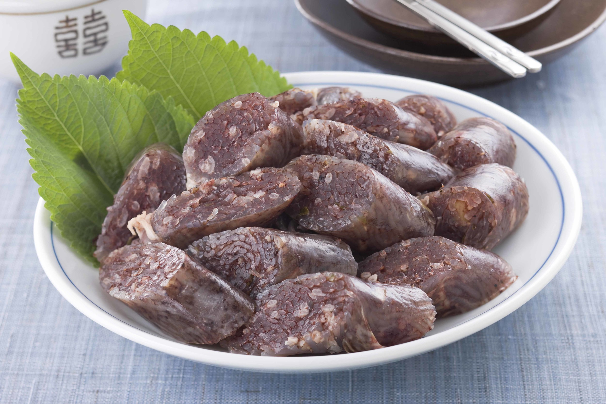2. Blood Sausage - 순대 (soondae)