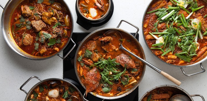 All the hot pots on the menu at POT  (Photo: Rick Poon)