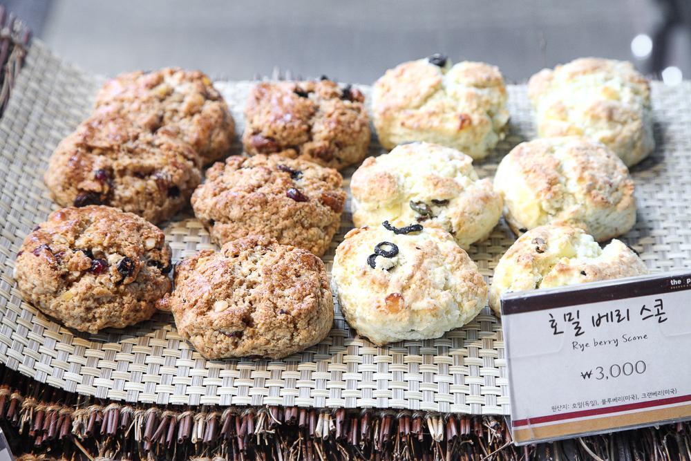 rye berry scones