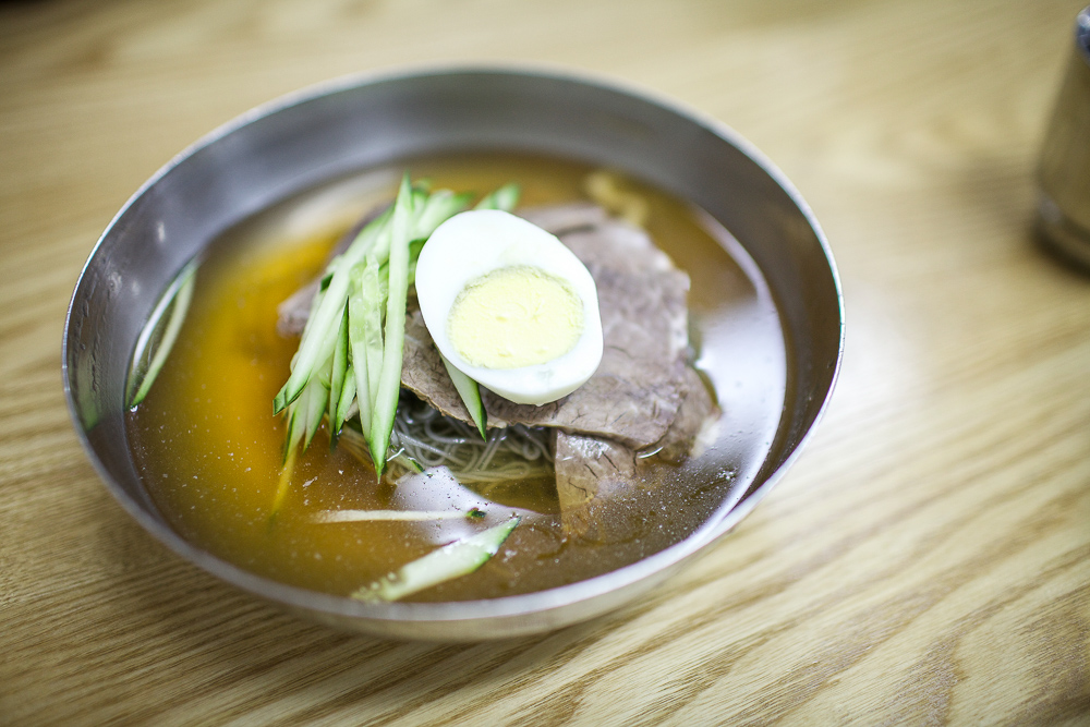 naengmyeon cold noodles
