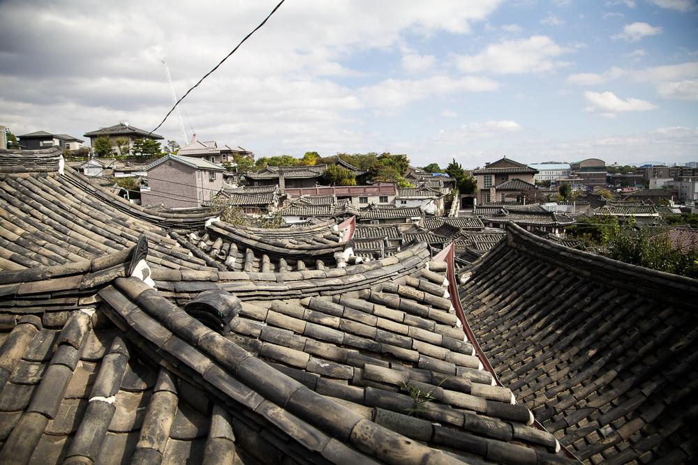 hanok rooftops 2