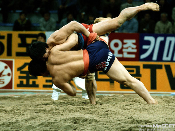 Korean wrestling  (Photo:  Mnsoft )