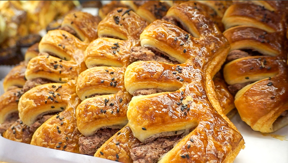 Red Bean Pastry. Break the fingers off to share with buddies!