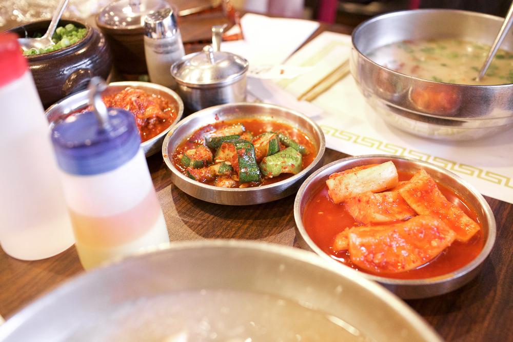 Family portrait of kimchi.