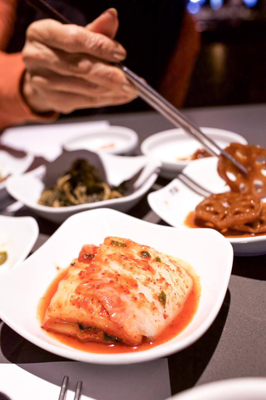 Napa cabbage kimchi in the spotlight